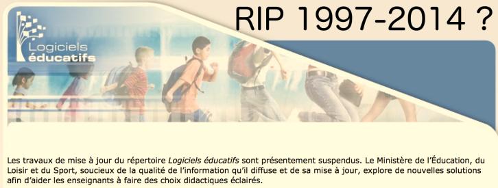 Logicielseducatifs.qc.ca suspendu?